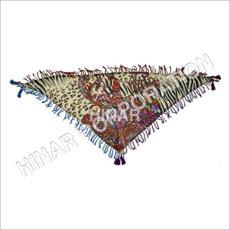 Digital Print Triangle Shawls