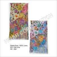 Digital Print Linen Shawls