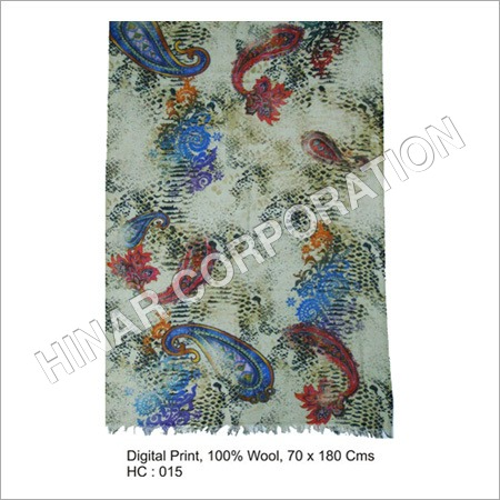 Digital Wool Scarves