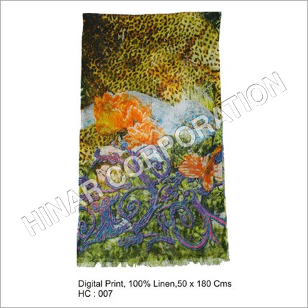 Digital Print Scarves