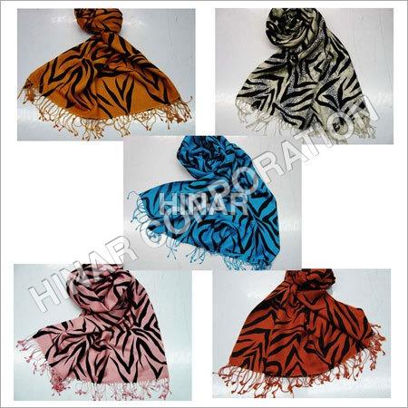 Zebra Print Shawl