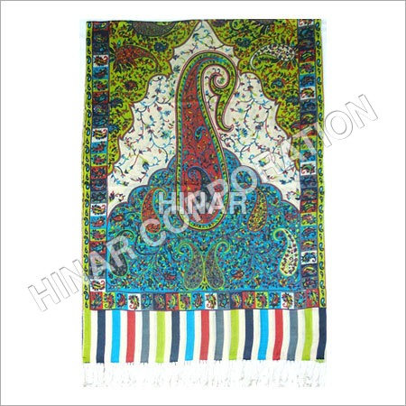 Print + Embroidery Shawls