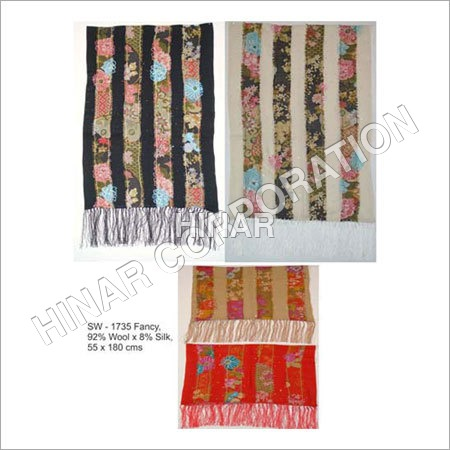Block Screen Print Shawls