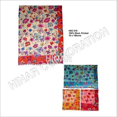 Floral Digital Print Scarves
