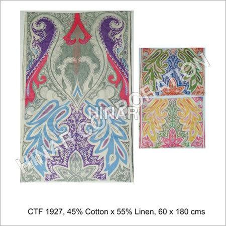 Printed Linen Shawls