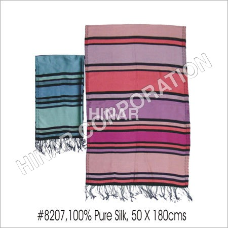 Stripes Silk Scarves
