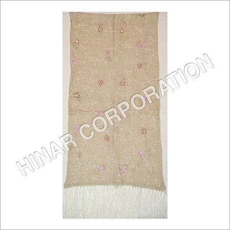 Pure Linen Embroidery Shawls