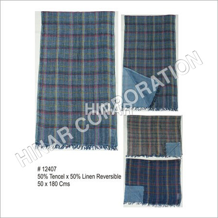 Reversible Linen Shawls