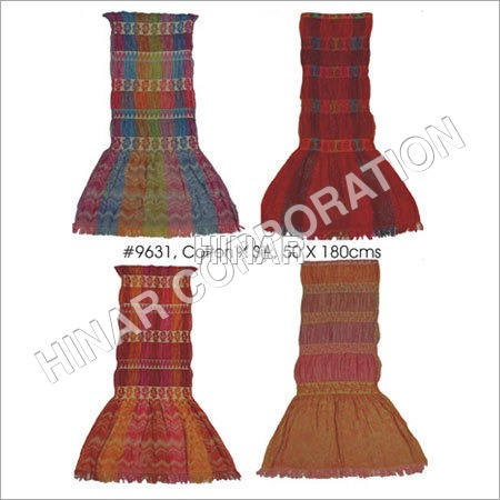 Silk Cotton Jacquard Shawls