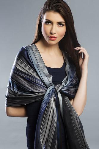 Designer Linen Shawls