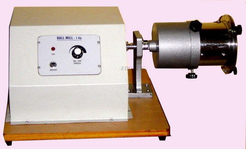 Ball mill, motor driven