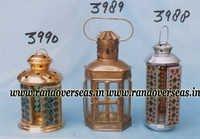 Mosaic Pasted Lantern