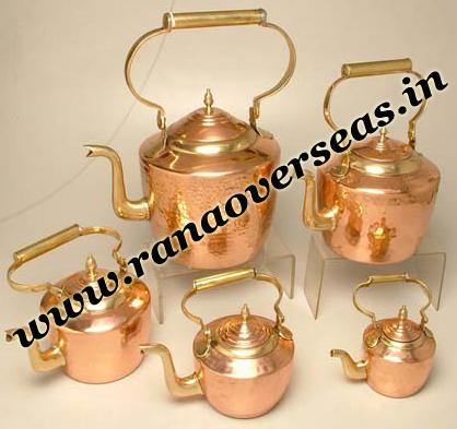 Copper Tea Pots