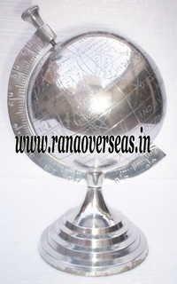 Aluminium Metal Globe.