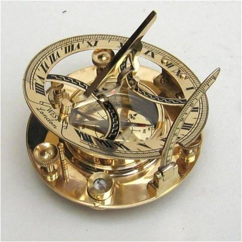 Solid-Brass-Sundial-Compass