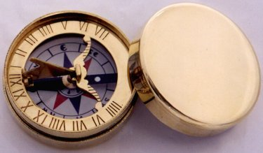 B Pocket Sundial and Compass