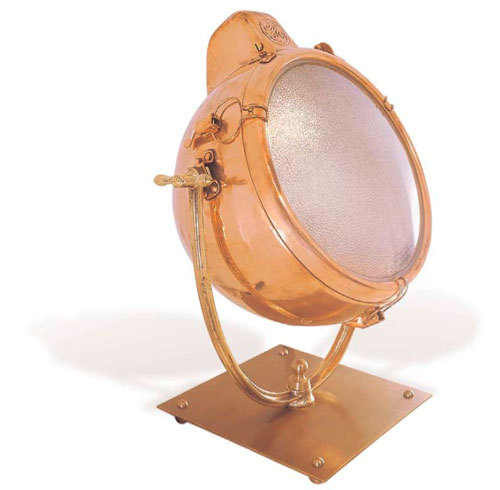 Antique Copper Searchlight