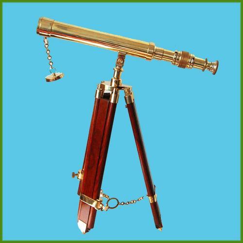 14 Inch Brass Telescope with Tripod