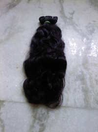 Natural Black Weft Hair