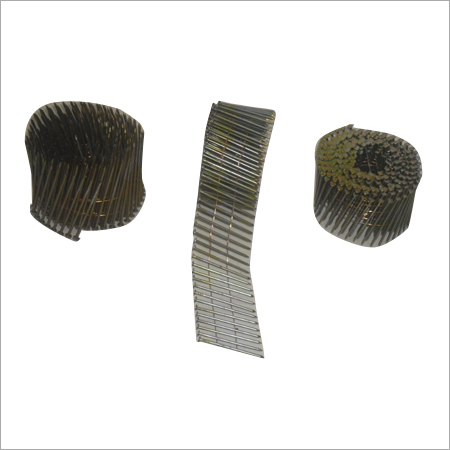 Nails In Coil Form For Pneumatic Nailers