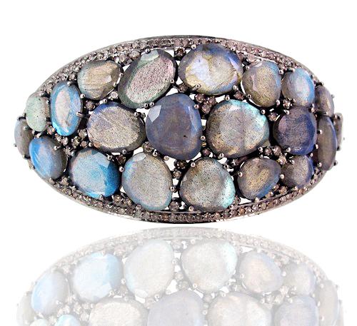 Labradorite Gemstone Bracelet Jewelry