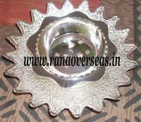 Silver Plated Dhoop, Pooja Item