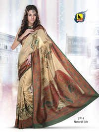 Semi Party Wear Sarees