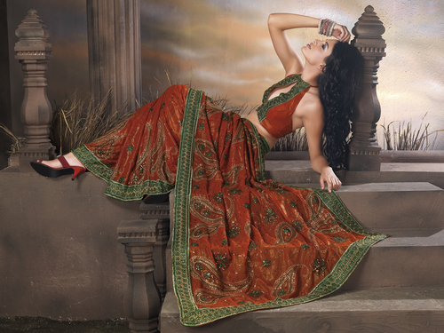 Bridal Wedding Lehengas Sarees