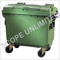 4 Wheeled Waste Dustbin 1100 Litre