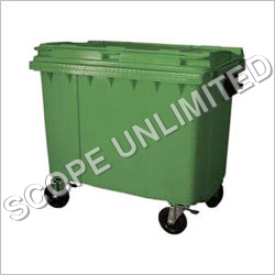 660l Plastic Wheeled Container