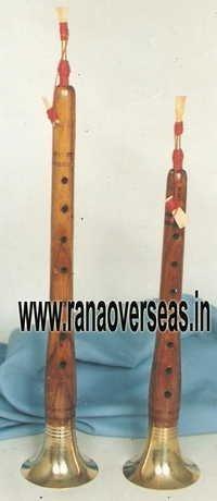 Wooden Brass Shehnai