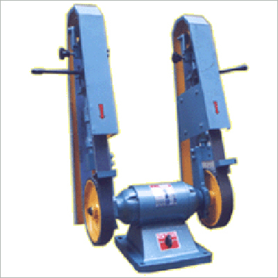 Abrasive Belt Grinder Bench Type Double Sided