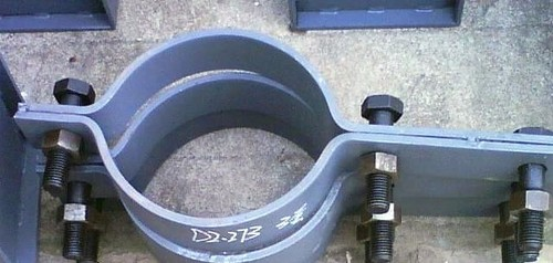 High Pressure Pipe support
