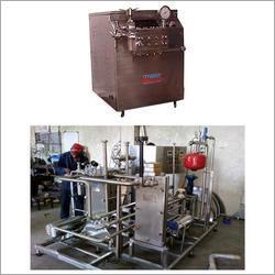 Pasteurizer and Homogenizer