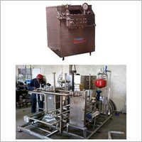 Pasteurizer and Homogenizer