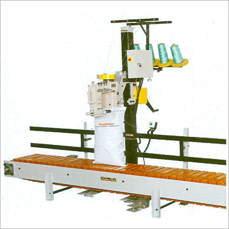 Bag Closing Machine With Conveyor System