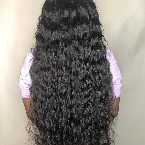 100 % Virgin  Human Hair