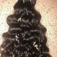 Curly Human Hair Machine Weft