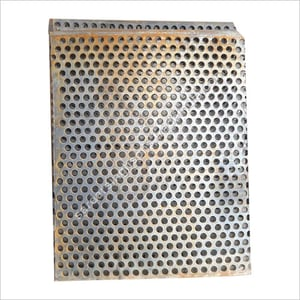 Perforated Plate Screen