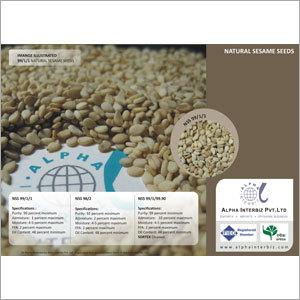 Natural Sesame Seeds 98/2