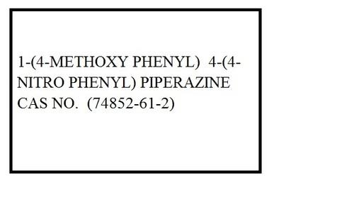 1 4 hydroxyphenyl 4 4 nitrophenyl piperazine