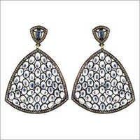 Pave Diamond Wedding Earrings Jewelry