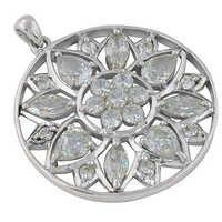 Sterling CZ Pendant Jewellery