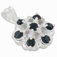 Black Onyx Gemstone Pendant Jewellery