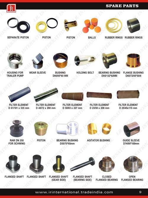 Concrete Pump Components