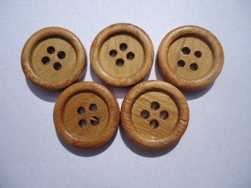 15 MM Wooden Button