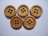 15 MM Wooden Button