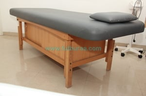 Massage Table with height adjustment