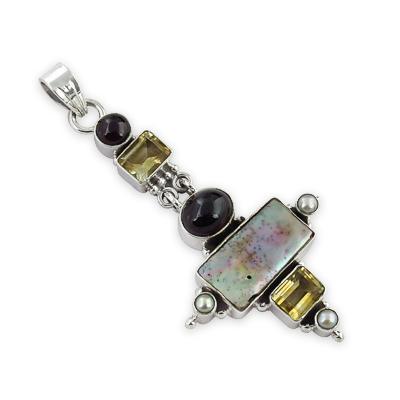 Multistone Pendant Jewellery