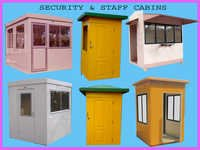 FRP SECURITY AND STAFF CABINS